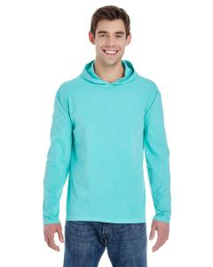 Chalky Mint Adult Heavyweight RS Long-Sleeve Hooded T-Shirt