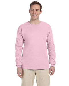 Classic Pink Adult 5 oz. HD Cotton™ Long-Sleeve T-Shirt