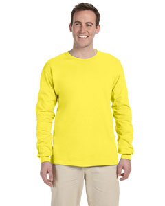 Yellow 5 oz., 100% Heavy Cotton HD® Long-Sleeve T-Shirt