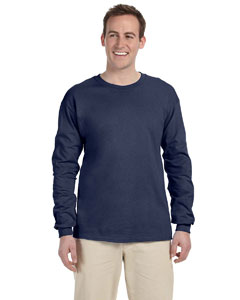Denim Adult 5 oz. HD Cotton™ Long-Sleeve T-Shirt