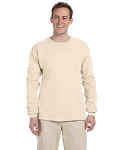 Natural Adult 5 oz. HD Cotton™ Long-Sleeve T-Shirt
