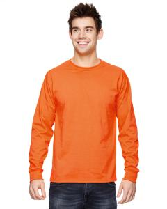 Safety Orange Adult 5 oz. HD Cotton™ Long-Sleeve T-Shirt