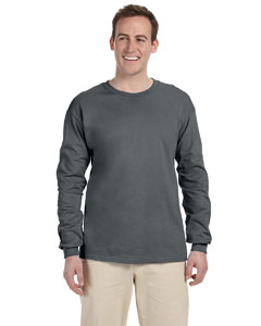 Charcoal Grey Adult 5 oz. HD Cotton™ Long-Sleeve T-Shirt