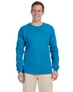 Pacific Blue Adult 5 oz. HD Cotton™ Long-Sleeve T-Shirt
