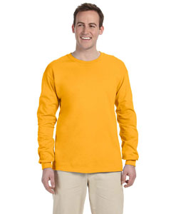 Gold Adult 5 oz. HD Cotton™ Long-Sleeve T-Shirt