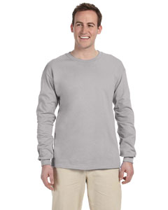 Silver Adult 5 oz. HD Cotton™ Long-Sleeve T-Shirt