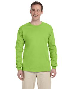 Neon Green Adult 5 oz. HD Cotton™ Long-Sleeve T-Shirt