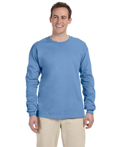 Columbia Blue Adult 5 oz. HD Cotton™ Long-Sleeve T-Shirt