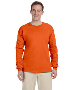 Burnt Orange Adult 5 oz. HD Cotton™ Long-Sleeve T-Shirt