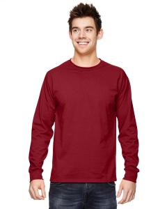 Crimson Adult 5 oz. HD Cotton™ Long-Sleeve T-Shirt