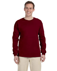 Maroon Adult 5 oz. HD Cotton™ Long-Sleeve T-Shirt