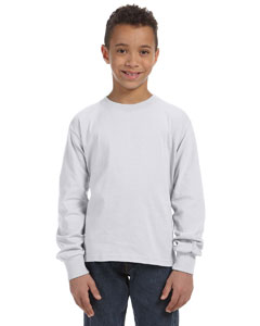 Ash Youth 5 oz., 100% Heavy Cotton HD® Long-Sleeve T-Shirt