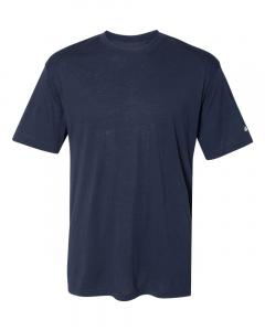 Navy Adult Triblend Performance T-Shirt