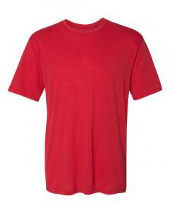 Red Adult Triblend Performance T-Shirt