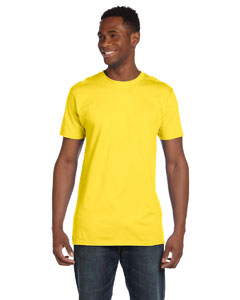 Yellow 4.5 oz., 100% Ringspun Cotton nano®-T T-Shirt