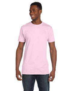 Pale Pink 4.5 oz., 100% Ringspun Cotton nano®-T T-Shirt