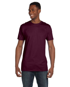 Maroon 4.5 oz., 100% Ringspun Cotton nano®-T T-Shirt