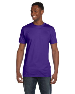 Purple 4.5 oz., 100% Ringspun Cotton nano®-T T-Shirt