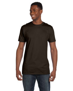 Dark Chocolate 4.5 oz., 100% Ringspun Cotton nano®-T T-Shirt