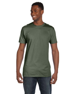 Fatigue Green 4.5 oz., 100% Ringspun Cotton nano®-T T-Shirt