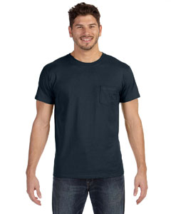 Vintage Black 4.5 oz., 100% Ringspun Cotton nano-T® T-Shirt with Pocket