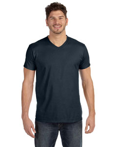Vintage Black 4.5 oz., 100% Ringspun Cotton nano-T® V-Neck T-Shirt