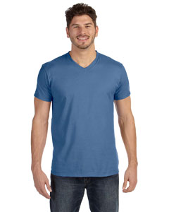 Vintage Denim 4.5 oz., 100% Ringspun Cotton nano-T® V-Neck T-Shirt