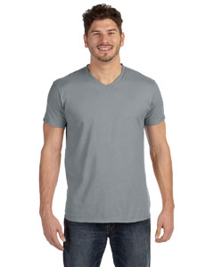 Vintage Gray 4.5 oz., 100% Ringspun Cotton nano-T® V-Neck T-Shirt