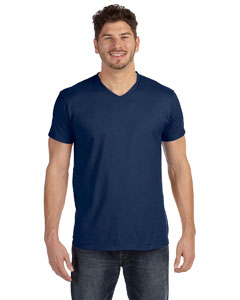 Vintage Navy 4.5 oz., 100% Ringspun Cotton nano-T® V-Neck T-Shirt