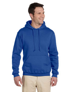 Royal 9.5 oz., 50/50 Super Sweats® NuBlend® Fleece Pullover Hood