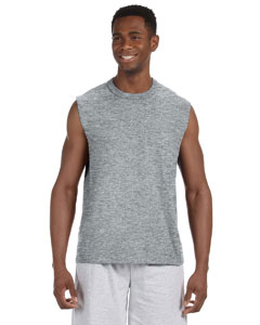 Athletic Heather 5 oz. HiDENSI-T® Sleeveless T-Shirt