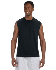 Black 5 oz. HiDENSI-T® Sleeveless T-Shirt