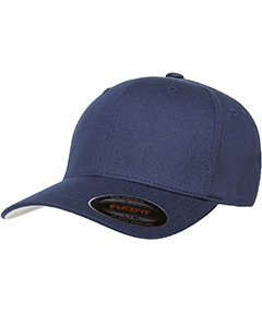 Navy 6-Panel Structured Mid-Profile Cap
