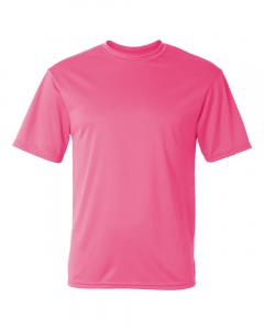 Pink Unisex Performance T-Shirt