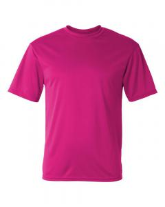 Hot Pink Unisex Performance T-Shirt