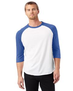 White/ Vnt Royal Men's Vintage Baseball T-Shirt
