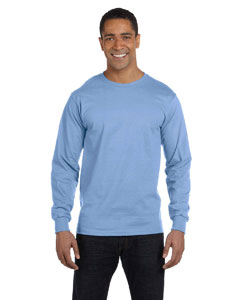 Light Blue 6.1 oz. Long-Sleeve Beefy-T®