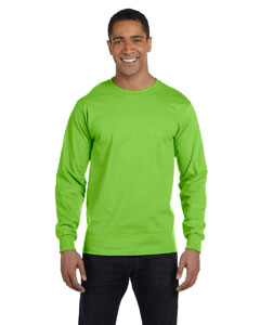 Lime 6.1 oz. Long-Sleeve Beefy-T®