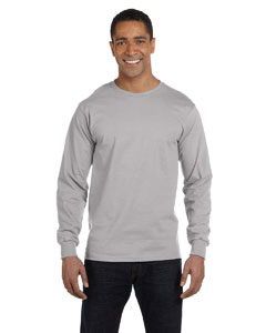 Light Steel 6.1 oz. Long-Sleeve Beefy-T®