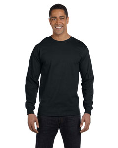 Black 6.1 oz. Long-Sleeve Beefy-T®