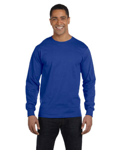 Deep Royal 6.1 oz. Long-Sleeve Beefy-T®