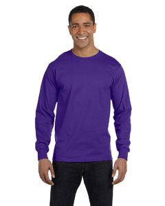 Purple 6.1 oz. Long-Sleeve Beefy-T®