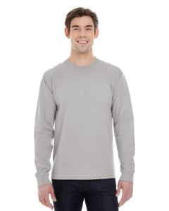 Vintage Gray 6.1 oz. Long-Sleeve Beefy-T®