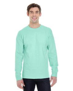 Clean Mint 6.1 oz. Long-Sleeve Beefy-T®
