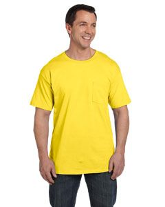Yellow 6.1 oz. Beefy-T® with Pocket