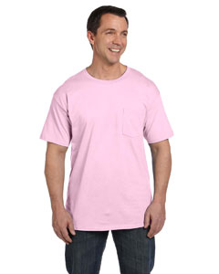 Pale Pink 6.1 oz. Beefy-T® with Pocket