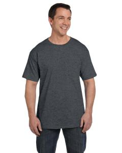 Charcoal Heather 6.1 oz. Beefy-T® with Pocket