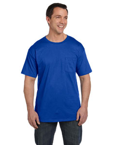 Deep Royal 6.1 oz. Beefy-T® with Pocket