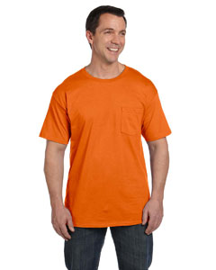Orange 6.1 oz. Beefy-T® with Pocket