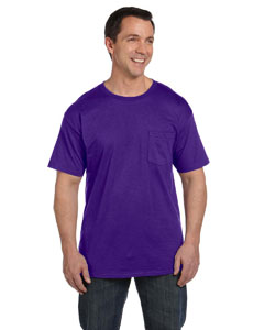 Purple 6.1 oz. Beefy-T® with Pocket